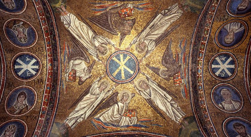 Cappella Arcivescovile - particolare della volta