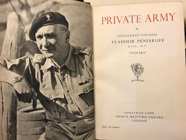 Private Army, 1950 di Jonathan Cape