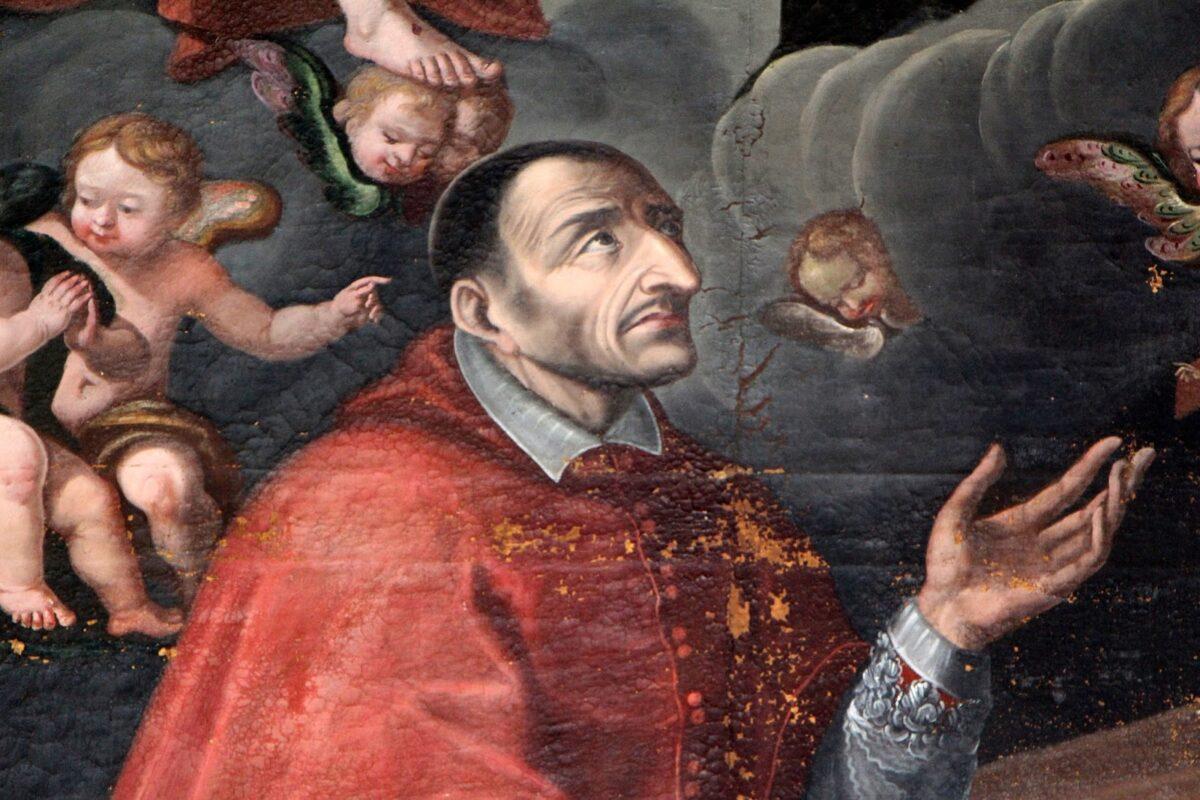 Dipinto del cardinale Borromeo di Ambrogio Figino(1577-78), Pinacoteca Ambrosiana