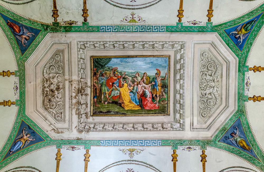 Palazzo Santacroce (Salone affrescato)