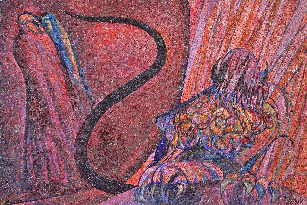 Foto1-Tamo--giuseppe-salietti--mosaico-lucifero