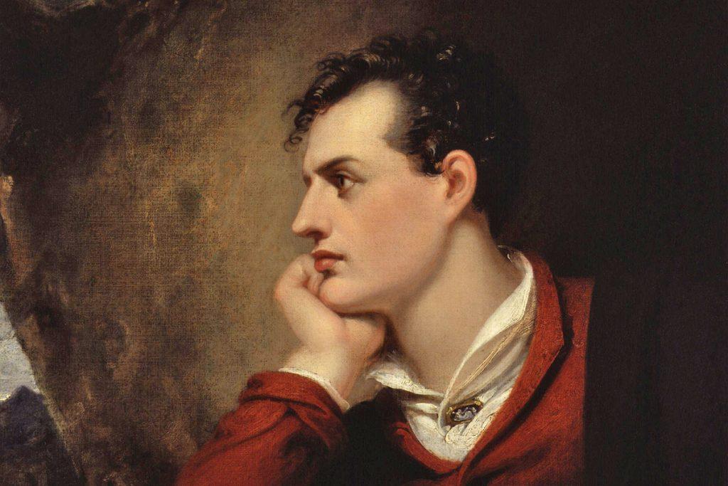 George Gordon Noel Byron, Richard Westall National Portrait Gallery, London