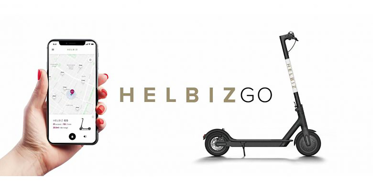 HelbizGo: scooters free floating service