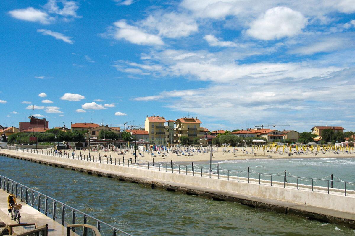 Casalborsetti (Ravenna) - Porto Canale