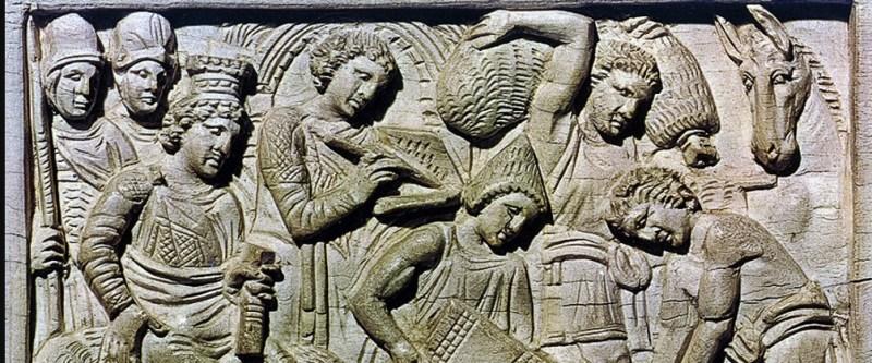 Dettaglio della Cattedra di Massimiano, Museo Arcivescovile, Ravenna