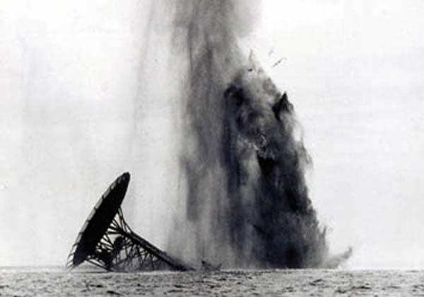 Il crollo della piattaforma Paguro (1965, Ravenna)