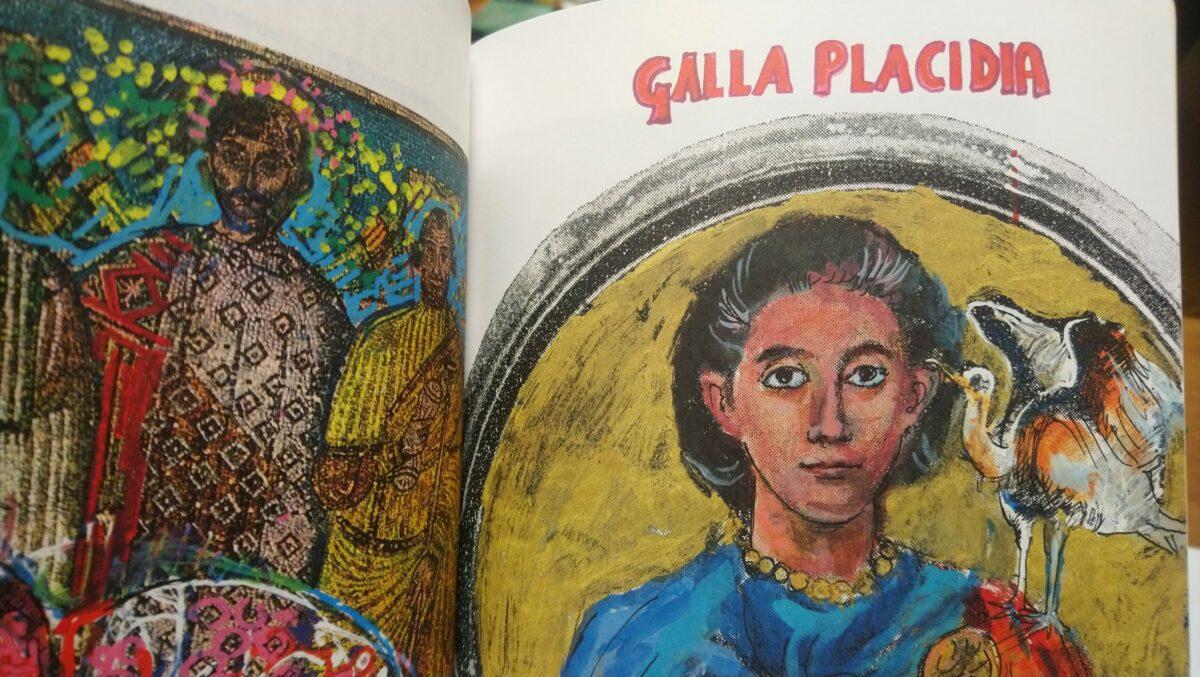 Galla Placidia ritratta da Dario Fo