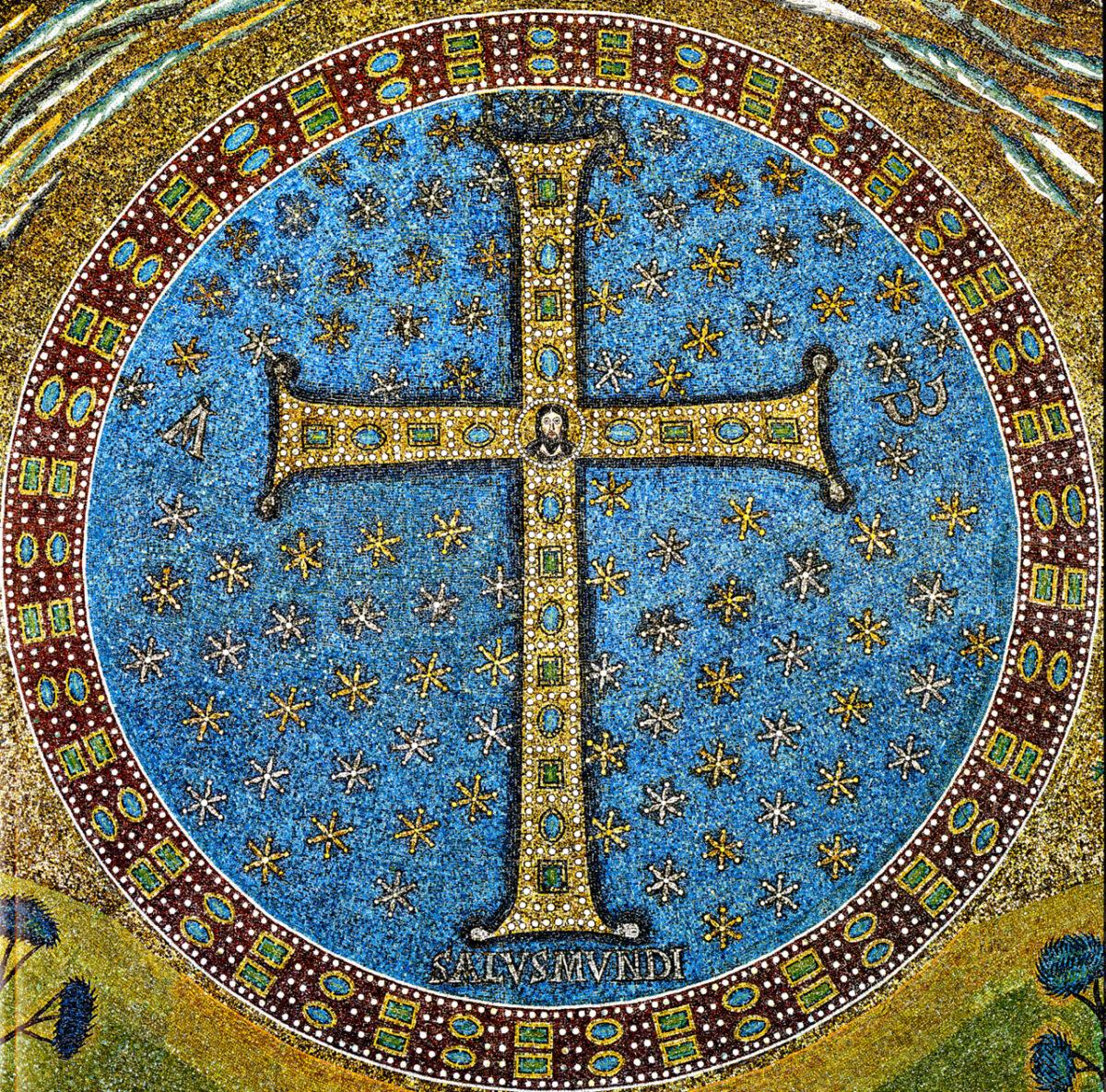 La Croce dell'abside della basilica di Sant'Apollinare in Classe,(Ravenna)