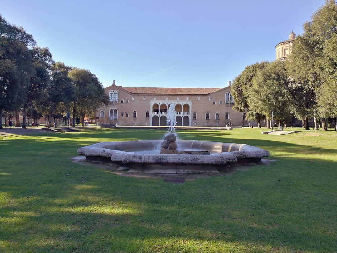 La Loggetta Lombardesca dai Giardini pubblici di Ravenna