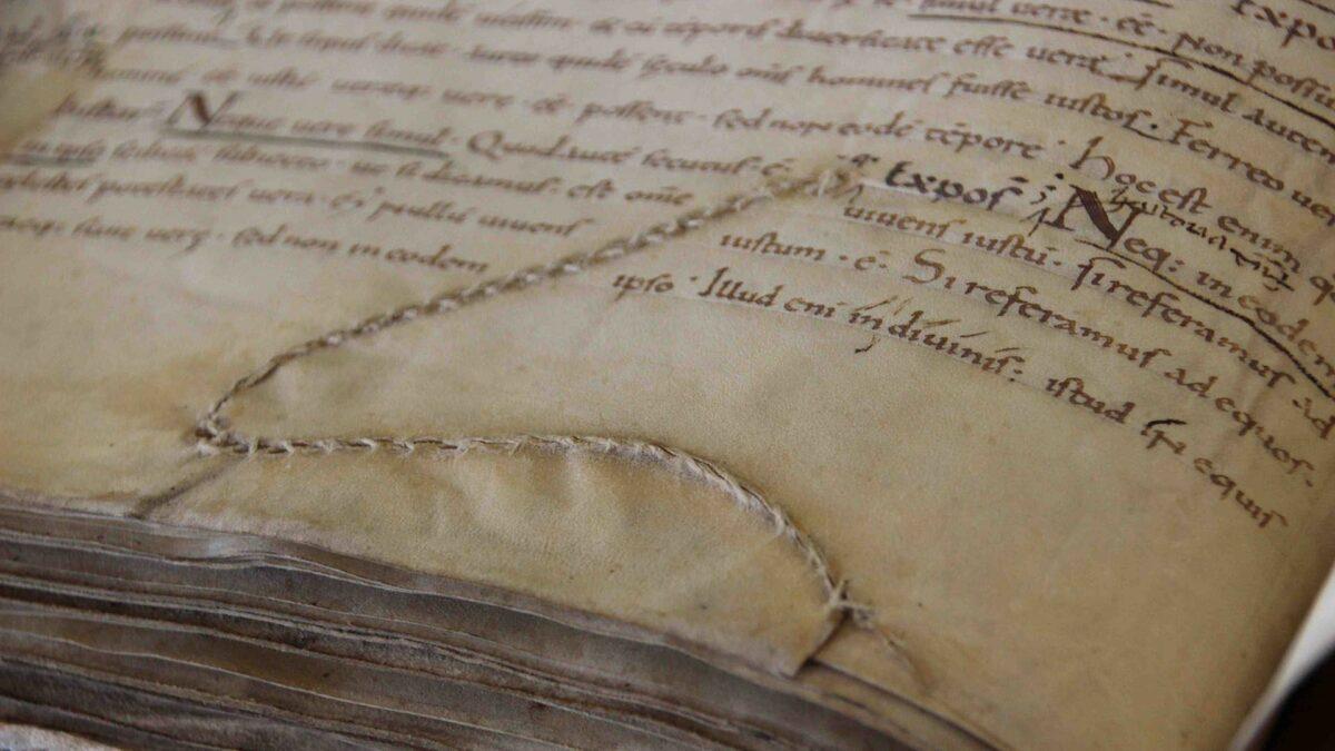 Il volume del Liber Pontificalis