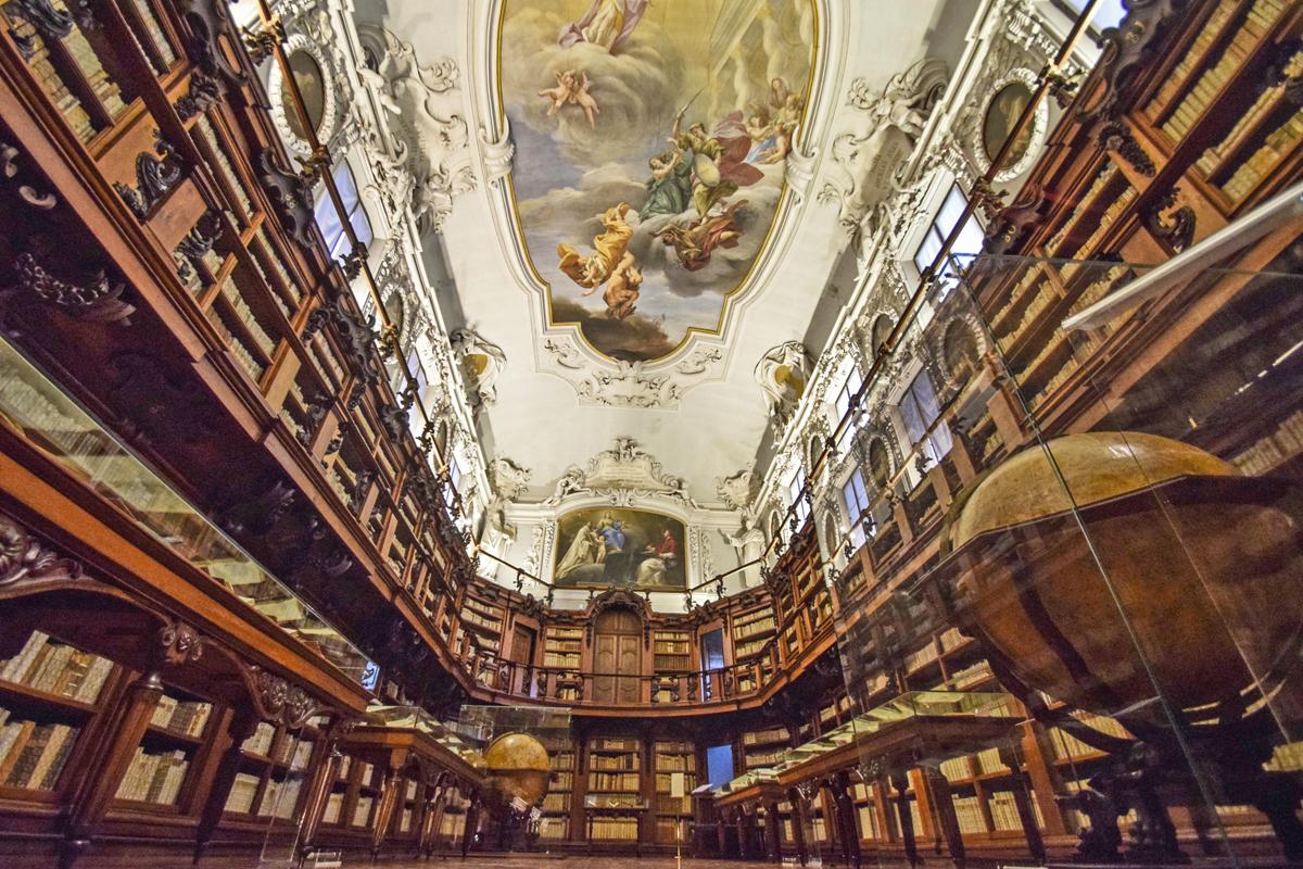 Biblioteca Classense (Ravenna) - Aula Magna