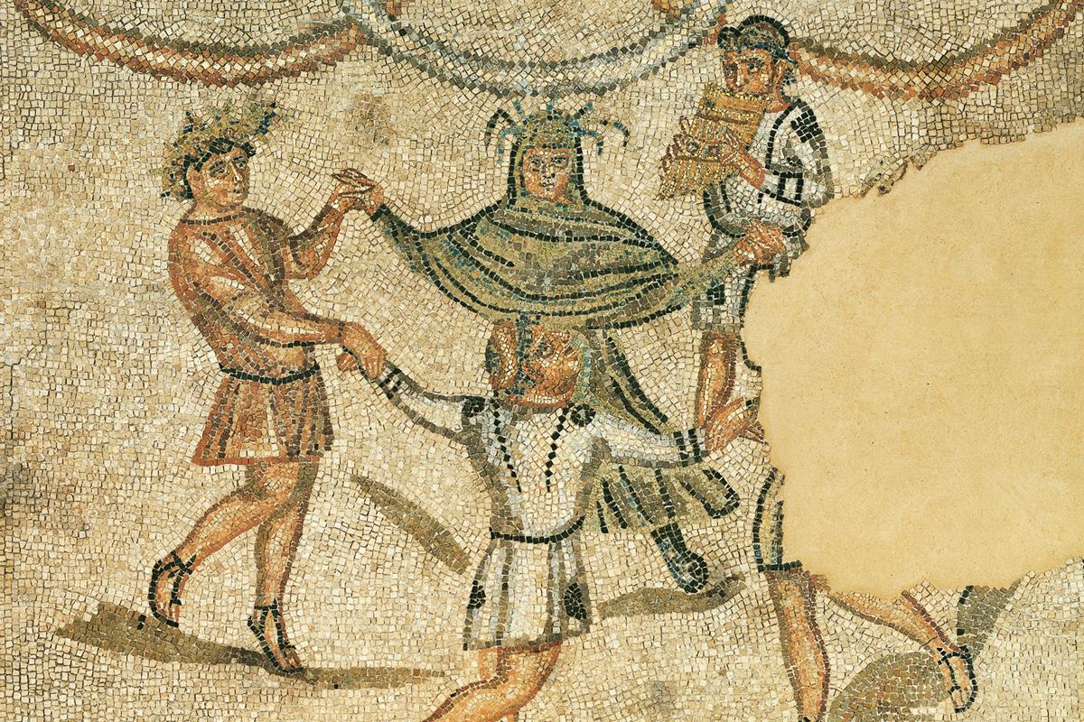 Domus dei Tappeti di Pietra (La danza delle Quattro Stagioni)