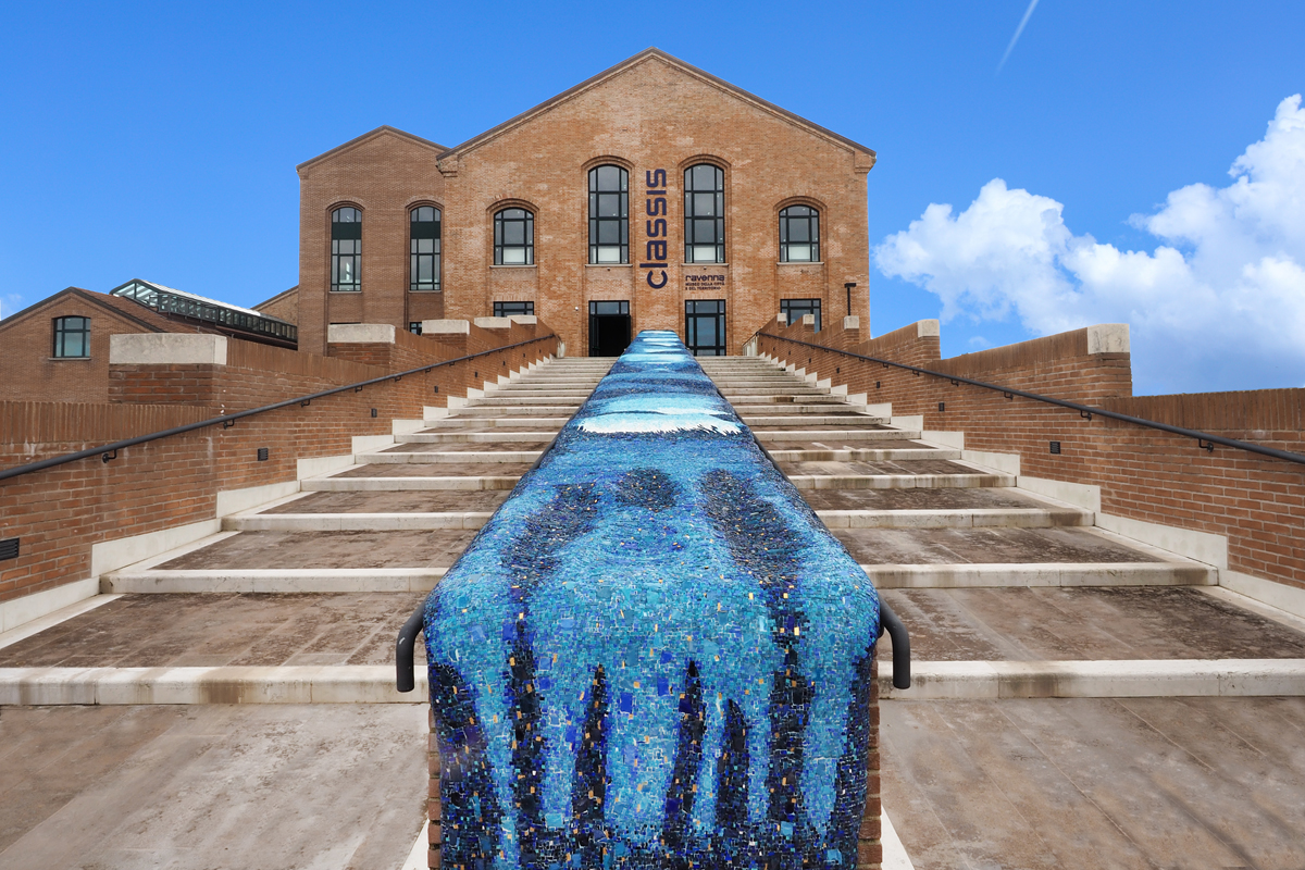 Museo Classis Ravenna - Mosaico dell'Onda (Ravenna)