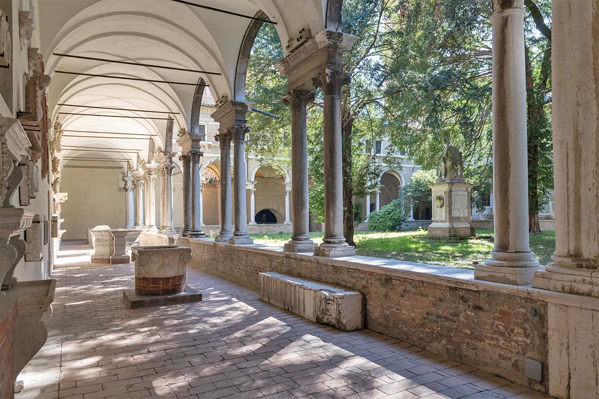 Museo Nazionale di Ravenna - Chiostro interno | Foto © Servizio Turismo Ravenna (Comunicattivi)