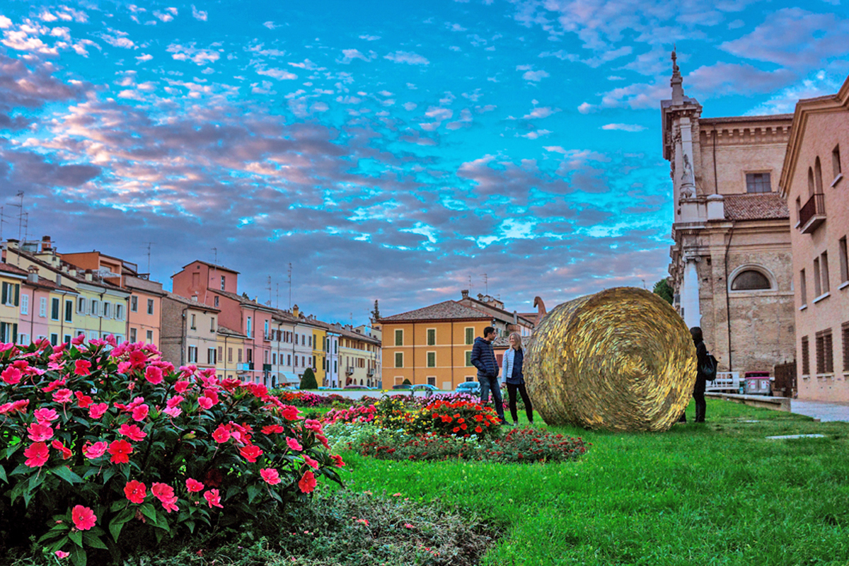 Rotoballa di Marco Bravura (MAR - Museo d'Arte della città di Ravenna)