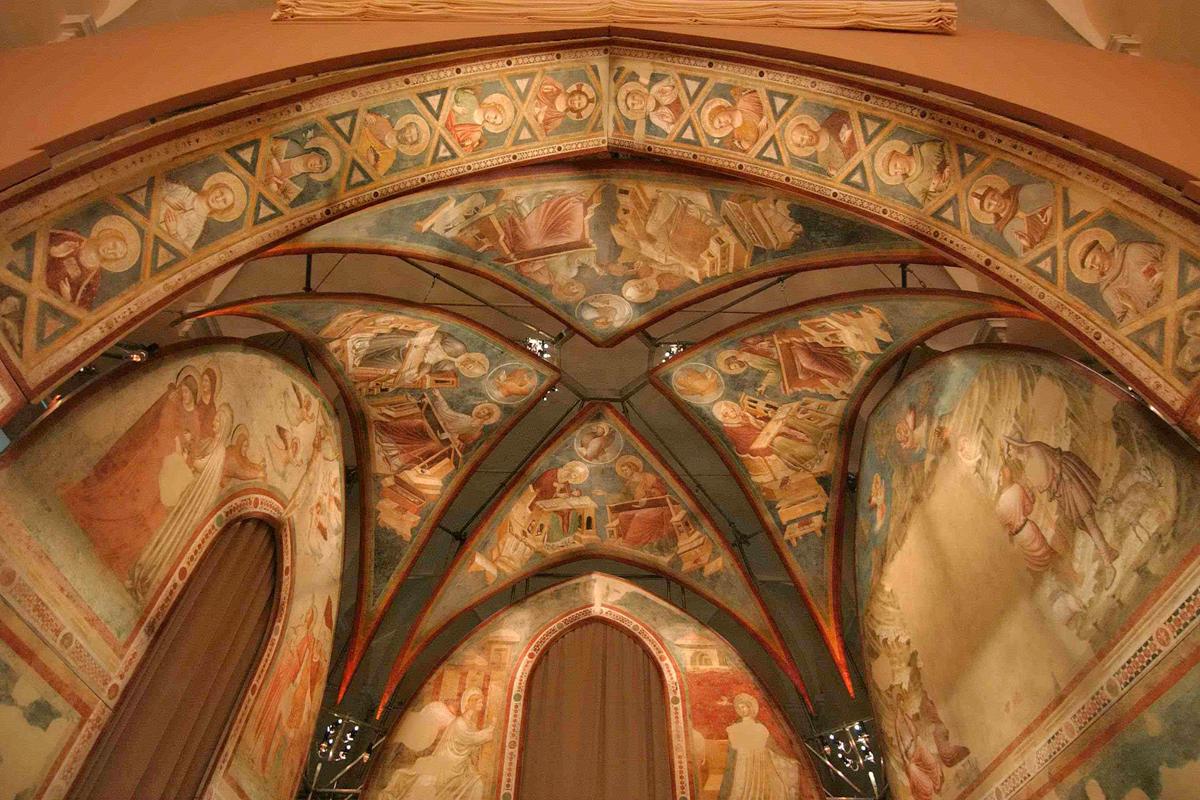 Museo Nazionale di Ravenna - Le vele di Santa Chiara