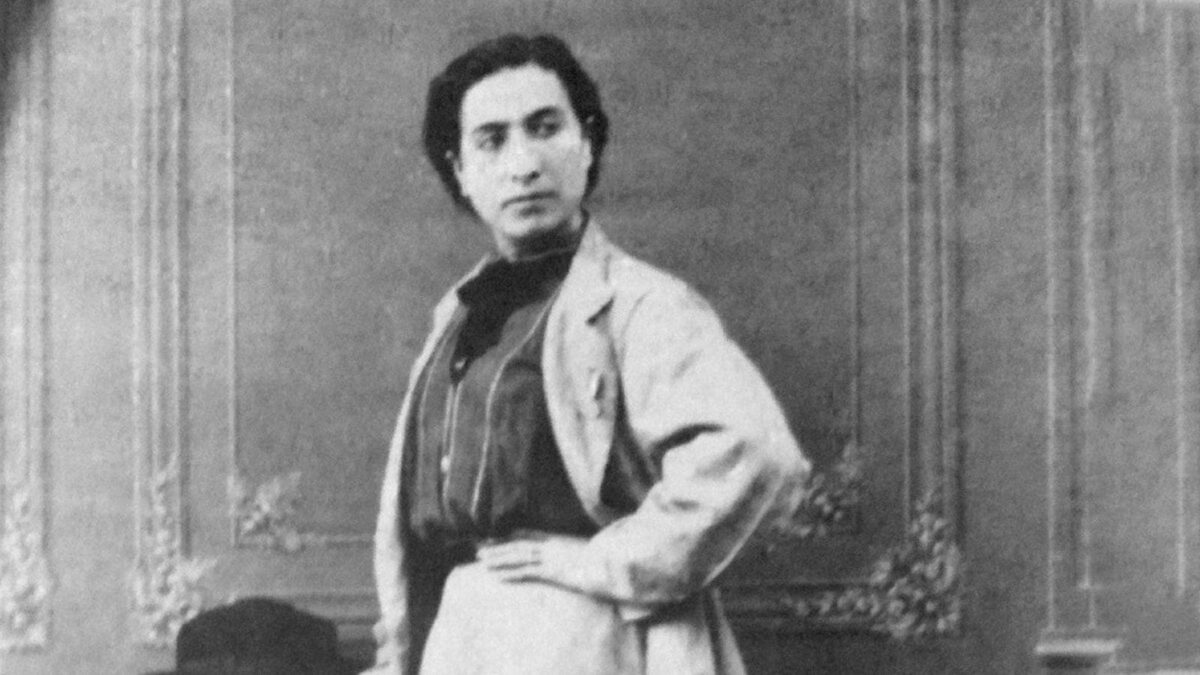 Portrait di Anita Garibaldi