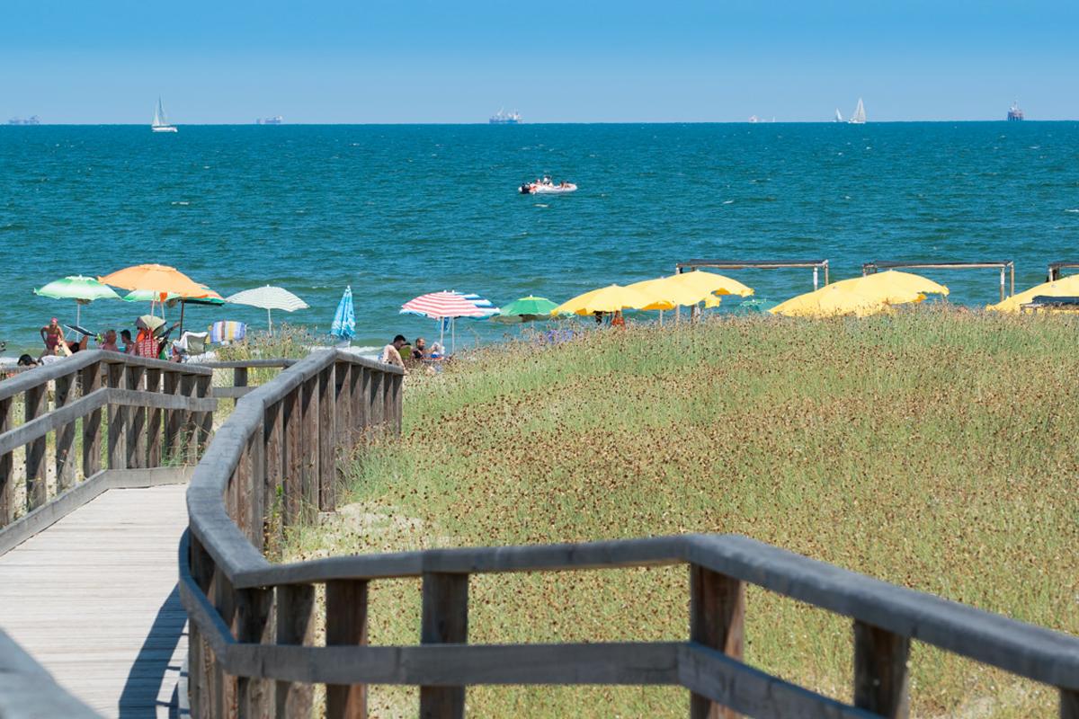 Spiaggia libera (Marina di Ravenna)