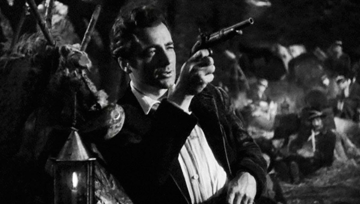 """Un fotogramma del film """"Il Passatore"""", 1947"""