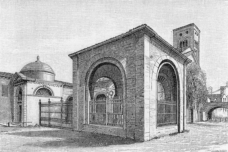 Quadrarco di Braccioforte, 1901, Ravenna
