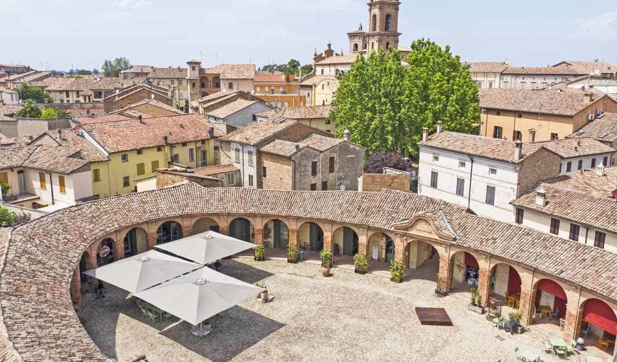 Bagnacavallo, Piazza Nuova (Ravenna)