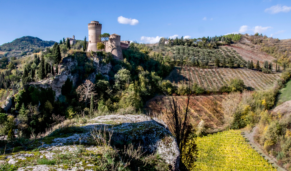 La Rocca Manfrediana di Brisighella (Ravenna)