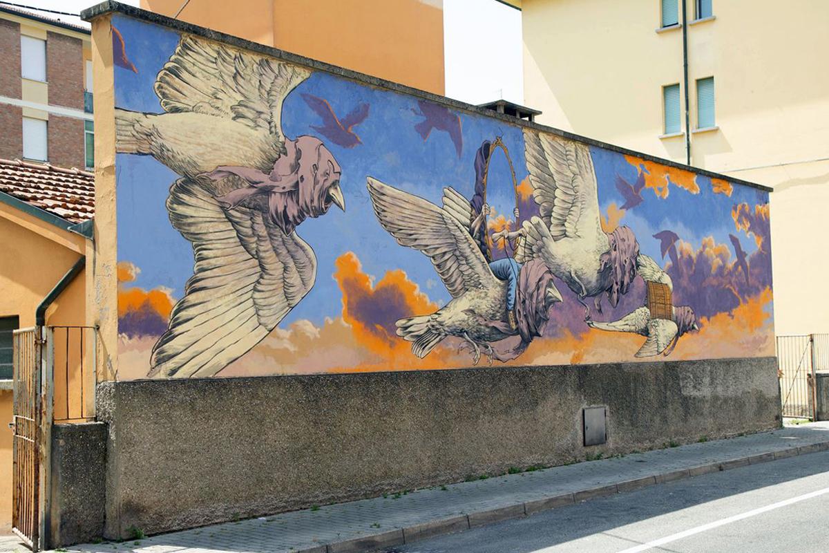 Street Art - Qbic
