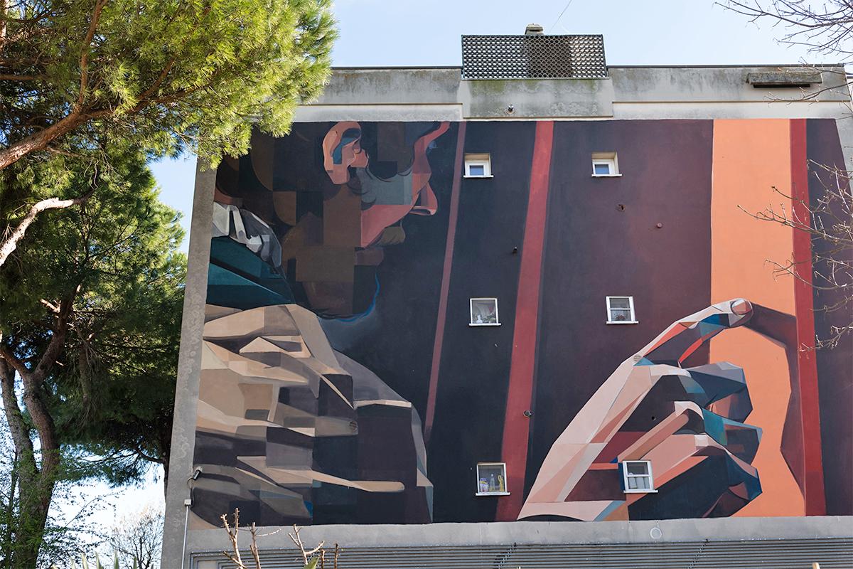Street Art - Basik | Foto © Comunicattivi, Archivio Comune di Ravenna